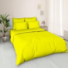 Поплин гладкокрашеный 100П-1 Люкс 121/0 желтый, ширина 220см