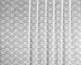 1.50м 2С6-Г10 полотно гардинное рисунок 1307 белый, ширина 150см