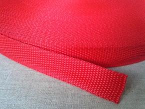 Стропа 22мм, красная (рул.50м)