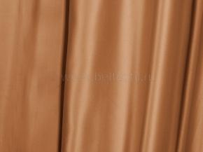 Ткань портьерная сатен T JL 384-106/280 PSat темный карамельный, 280см
