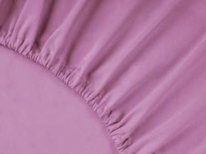 2956-БЧ простыня на резинке 200*140*25 цв. 14-3207 розовый