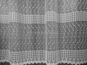 2.85м Сетка вышивка Gold Line FB 8212-w/285 KSB белый, ширина 285см