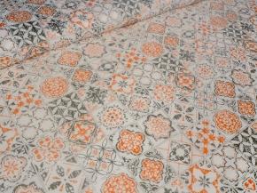 Ткань бельевая арт 175448 п/лен отб наб рис 18-75/1 Декор, ширина 150см