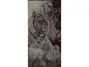 6с102.413ж1 Тигр на отдыхе Полотенце махровое 81х160см