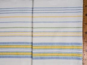 14с35-ШР 220*150 Простыня цв 7 цветная  полоска
