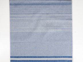 18с73-ШР Наволочка верхняя 60*60 цв 27  голубой