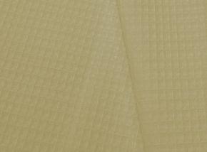 Полотенце вафельное банное 80*150 цвет бежевый