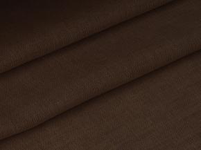 Ткань скатертная 17с4 ЯК 506099 п/лен гладкокрашеный рисунок 9.36 цвет шоколад, ширина 150см