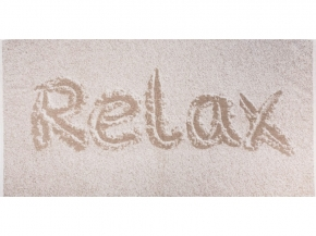 6с102.513ж2 Relax Полотенце махровое 81х160см Лен+х/б