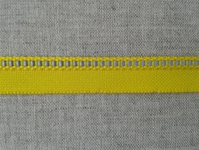 08С3487-Г50 ЛЕНТА ОТДЕЛОЧНАЯ 13мм/кант 3мм с СВ полосой, желтый