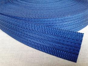 4С495-Г50 ЛЕНТА РЕМЕННАЯ синий*032, 35мм (рул.30м)