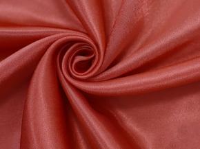 Креп-сатин T HH L102/150 KSat красный, ширина 150см