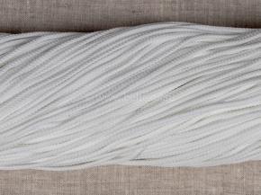 1С35-Г50 ШНУР белый 4мм (рул.200м)