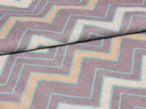 Ткань интерьерная 176099 п/лен п/вар.набивной рис.4648/2 Модерн, ширина 150 см