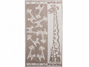 6с103.512ж2 Жирафики Полотенце махровое 50х90см