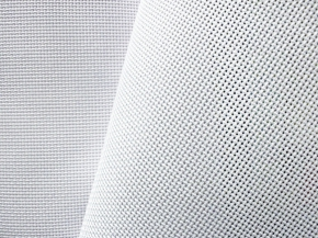 0С93В аппр. Ткань для вышивания (пл.166 гр/м2), белый, ш.149см (Канва 16 каунт)