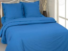 Поплин гладкокрашеный цв. 70001-1 Синий, 220см