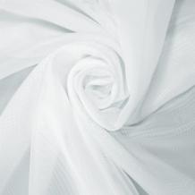 """Вуаль однотонная """"Шелли"""" MS 01/295 V белый, ширина 295 см"""