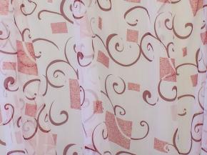 """Вуаль """"Ariel"""" печать RS 3105-04/280см V Pech Lur ut с утяжелителем ширина 280 см"""