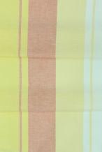16с197-ШР Наволочка верхняя 70*70 рис.4 цвет 7 желтый с салатовым