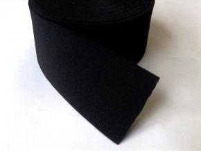 ш.100мм. Резинка башмачная 100мм, черный (рул.20м)