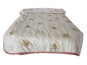 Одеяло ПЭС/ верблюжья шерсть 300 гр  Евро +  210*240