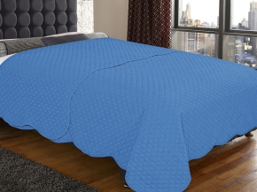 Покрывало Amore Mio WX Cell BL 1622 цвет синий