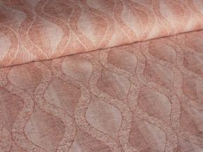 Ткань скатертная арт 181049 п/л пестроткань рис 1*1150/7 Волны горчица, ширина 190см (аппрет, каландр)