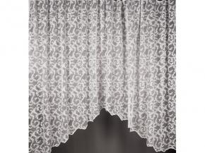 1.75м полотно гардинное Арка Shelly lux HX M 3017/175w, высота 175см/ ширина 300см купон для штор