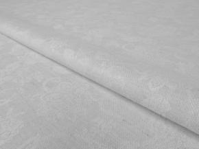 "Ткань скатертная арт 1780/17ЯК п/лен п/отб. жаккард рис.4218 б/1 ""Цветочный"", ширина 160см"