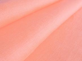 Ткань бельевая 05с-38 ЯК п/лен гладкокрашеный св.чайная роза, ширина 150см