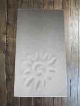 "4с95.101 ""Солнышко на песке"" Полотенце махровое 81х160см"
