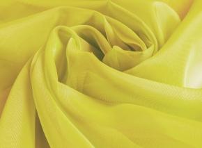Вуаль однотонная Шелли ZN 109/300 V лимонный, ширина 300 см