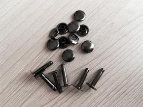 Хольнитен (заклёпка) 9х15х10х3мм, бл.никель (уп.100шт)