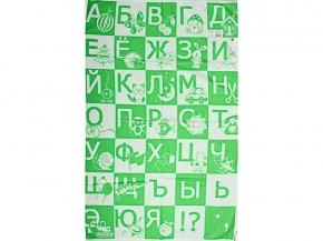 1с01.415ж1 Алфавит Простыня махровая 100х160 см