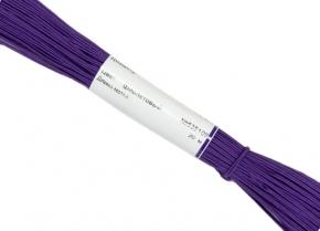 1С13-Г50 ШНУР ОТДЕЛОЧНЫЙ (сутаж) фиолетовый*109, d-1.8мм (рул.20м)