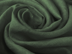 Ткань одежная гладкокрашеная арт. 186071 МА  цвет Темно-зеленый К4П2, 150см