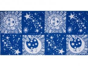 6с102.413ж1 Солнце и луна Полотенце махровое 81х160см