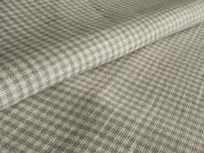 Ткань сорочечная 1654ЯК п/лен пестротканный рис. 2/1 10,81 сорт 1, ширина 150см