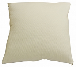 Подушка трикотаж  лебяжий пух/ кант  70*70