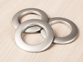 Люверсы AL 39 серебро d-35мм (уп.10шт)