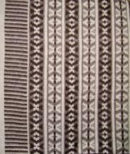 Одеяло п/шерсть 70% 140*205 жаккард цвет коричневый