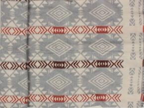 Одеяло хлопковое 170*205 жаккард  11/30 цв. серый Мексика