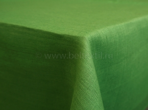 17С149-ШР 144*200 Скатерть 100% лен 1122 цв. трава