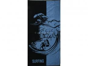 6с102.413ж1 Surfing Полотенце махровое 81х160см
