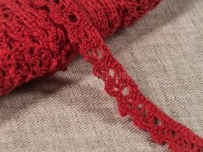 К-013-117-7 Кружево 13мм, красный