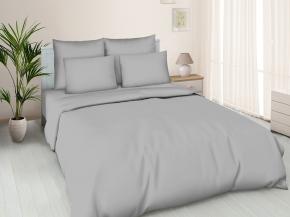 Поплин гладкокрашеный 100П-1  Люкс цвет 881 серый