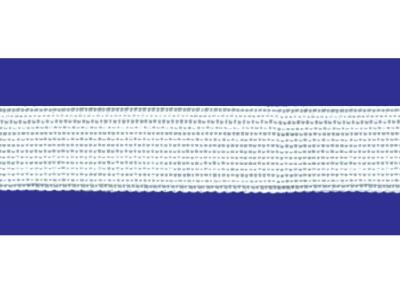 Тесьма вязан.окантовочная 22мм (2,4г/м), белая (рул.100м)