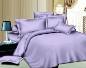 Твил-сатин гладкокрашеный pastel lilac SB, ширина 220см
