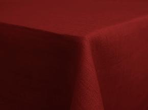17С149-ШР 144*144 Скатерть 100% лен 511 цв.бордо